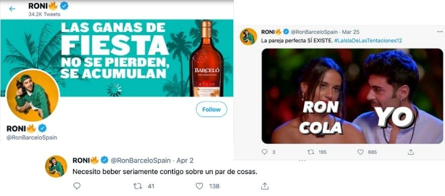 Ron Barceló Twitter